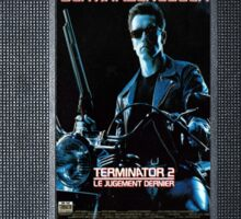 Terminator 2 vhs iphone-case Sticker