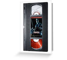Terminator 2 vhs iphone-case Greeting Card