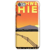 Vintage poster - Southwest Chief iPhone Case/Skin