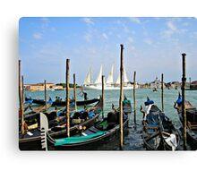 Summer In Venice Canvas Print