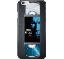 Total Recall vhs iphone-case iPhone Case/Skin