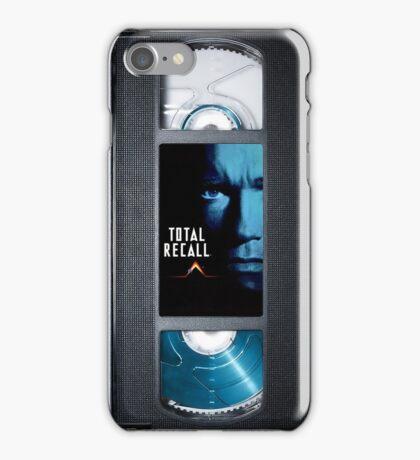 Total Recall vhs iphone-case iPhone Case/Skin