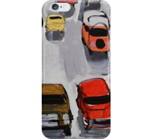 Rainy parking iPhone Case/Skin