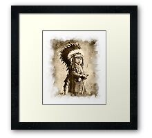 Baby Cheyenne Framed Print