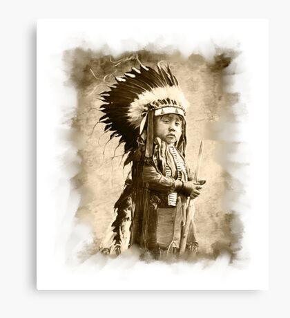 Baby Cheyenne Canvas Print