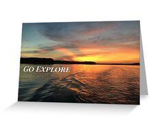 Go Explore Greeting Card