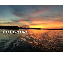 Go Explore Photographic Print