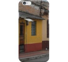 Old Buildings in Cotacachi iPhone Case/Skin