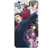 Ace Attorney Poster iPhone Case/Skin