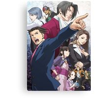 Ace Attorney Poster Canvas Print