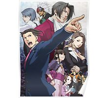 Ace Attorney Poster Poster