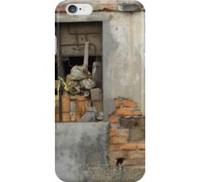 Wall of an Old House iPhone Case/Skin