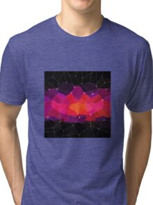 Abstract background. Hot pink. Color space. Tri-blend T-Shirt
