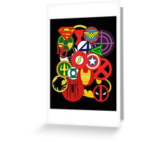 Heroes Greeting Card