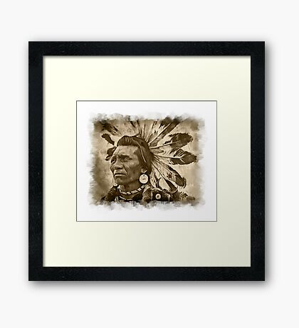Mighty Chief Framed Print