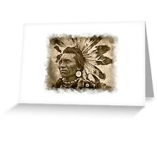 Mighty Chief Greeting Card