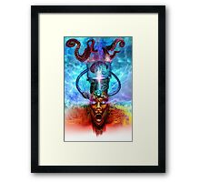 """""""A Vision of Oz: Scarecrow"""" Framed Print"""