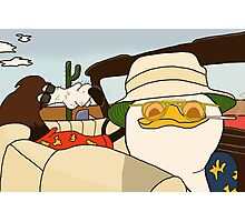 Fear and Loathing in Las Vegas - Dolan and Gooby  Photographic Print