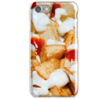 potatoes with mayonnaise and Quechup iPhone Case/Skin