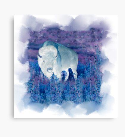 The Great White Buffalo Canvas Print