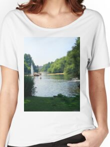 Water River Women's Relaxed Fit T-Shirt