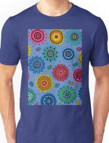 Flowers of Desire blue T-Shirt