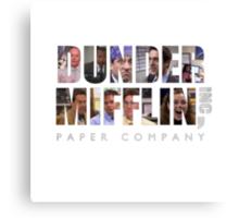 Dunder Mifflin Paper Co Canvas Print