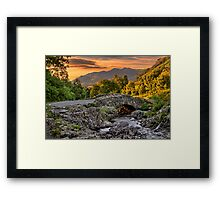 Ashness Bridge Framed Print