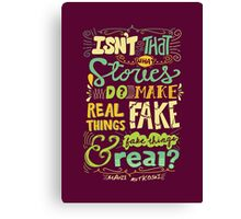 What Stories Do Canvas Print