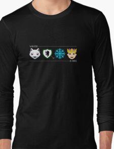 Jon Snow Emojis Long Sleeve T-Shirt