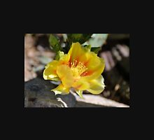 Yellow and Orange Prickly Pear Bloom Unisex T-Shirt