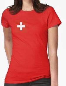 England pillows & totes Womens Fitted T-Shirt