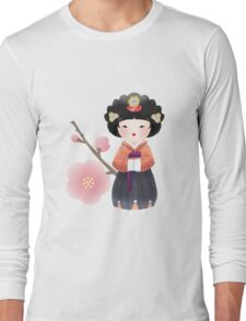 Korean Doll Long Sleeve T-Shirt