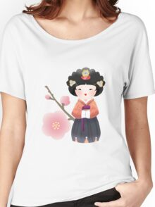 Korean Doll Women's Relaxed Fit T-Shirt