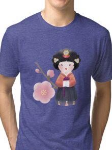 Korean Doll Tri-blend T-Shirt