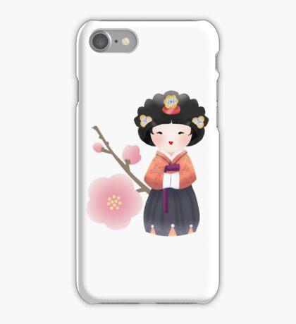 Korean Doll iPhone Case/Skin