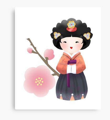 Korean Doll Canvas Print