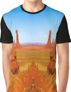 John Ford's Monument Valley Graphic T-Shirt
