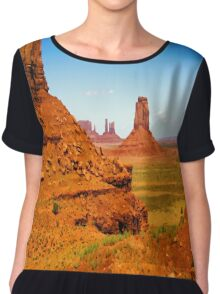 John Ford's Monument Valley Chiffon Top