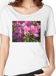 Pink rhododendron  Women's Relaxed Fit T-Shirt