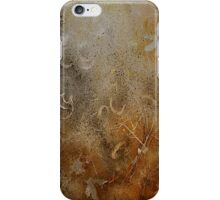 Rusty gold iPhone Case/Skin