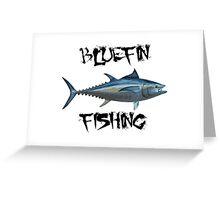 Bluefin Fishing Greeting Card