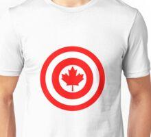 Captain Canada Shield Unisex T-Shirt