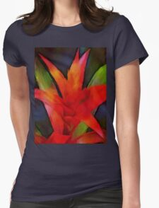 thinking of bromeliad Womens Fitted T-Shirt