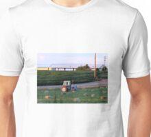 Little Blue Ford Tractor...Caldwell, Idaho....farm country Unisex T-Shirt