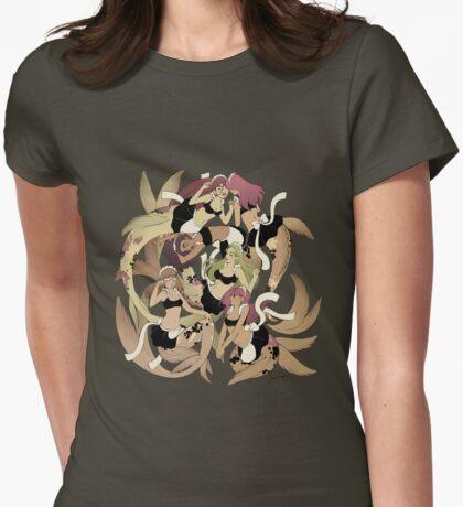 Mermaids Womens Fitted T-Shirt