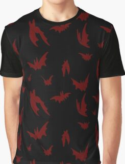 Little Red Bats Graphic T-Shirt