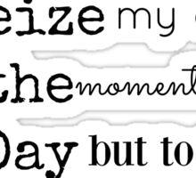 Musical lyrics Sticker