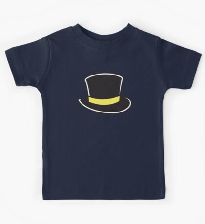 a TOP HAT Kids Tee