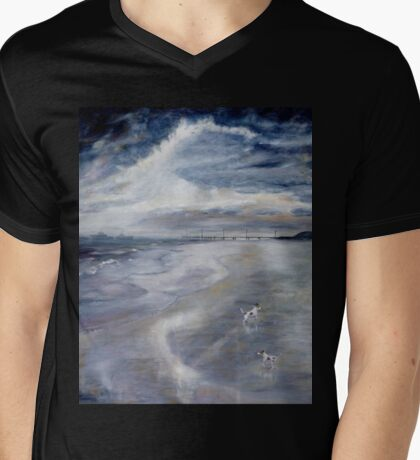 Stranded in Lancelin Mens V-Neck T-Shirt